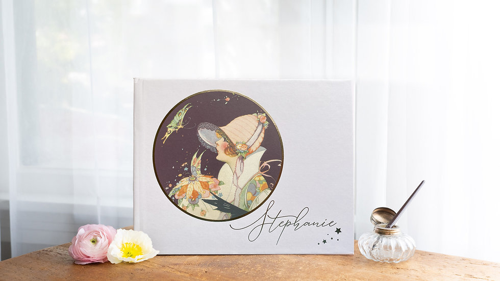 Great Gatsby Inspired Photo Album - Guest Book - Butterfly