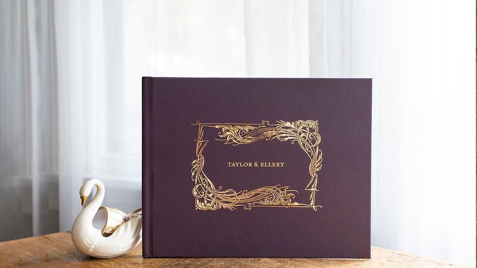 Photo Album - Guest Book - Vintage Flourish