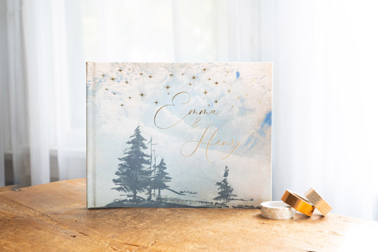 Forest Wedding Guest Book