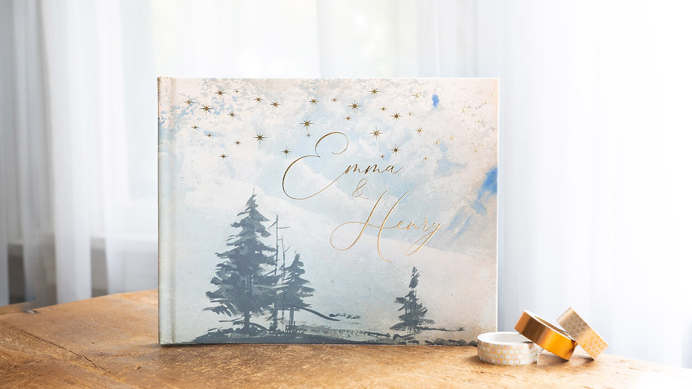 Photo Album - Guest Book - Forest