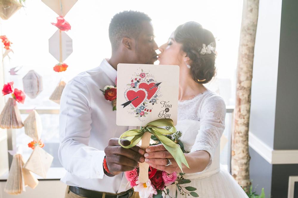 wedding programs, ceremony programs, wedding hand fans, wedding stationery