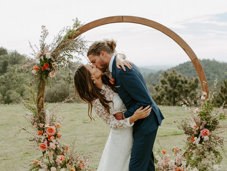An Intimate Vintage Boho Affair