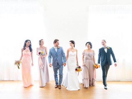 Glamorous Celestial Wedding in Hollywood