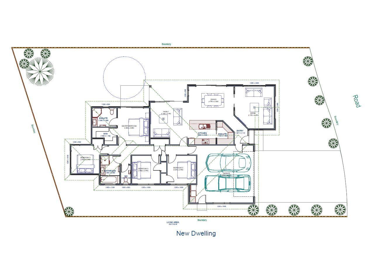 Ashhurst Floor plan