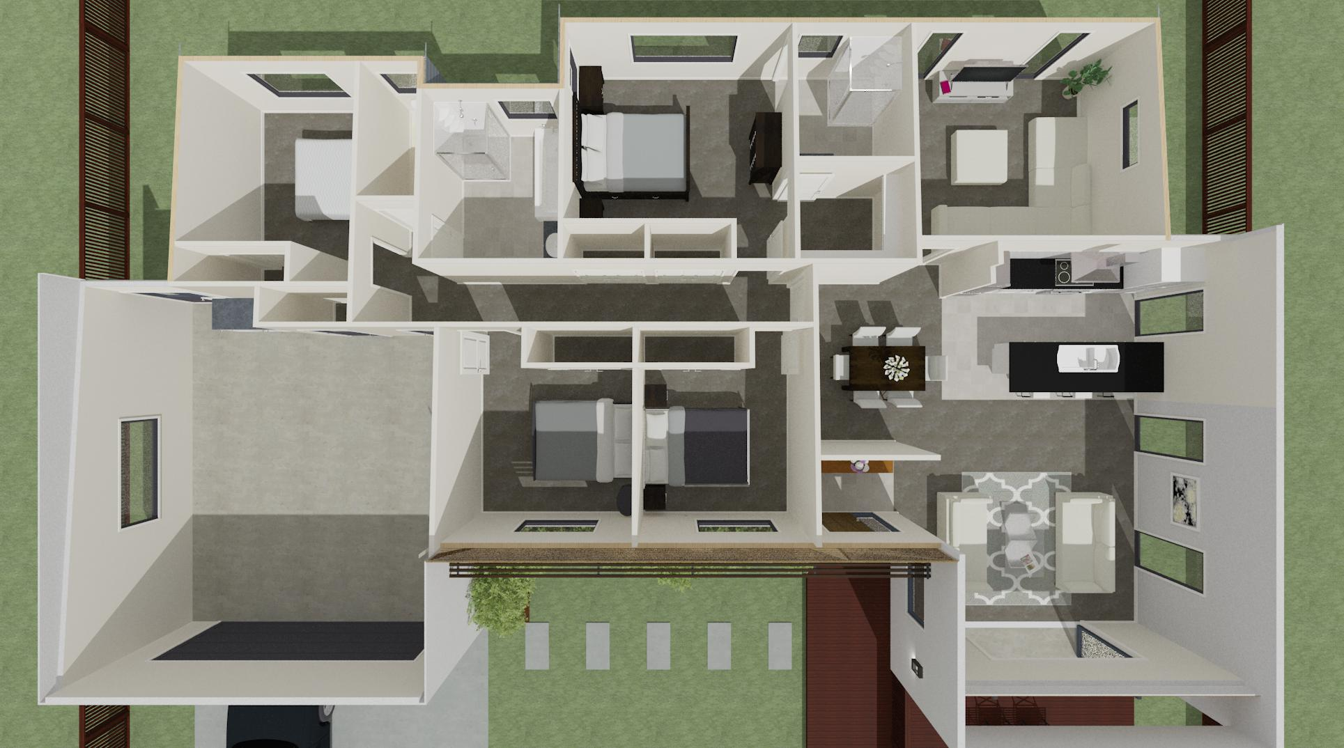 Lot 40 Floor Plan