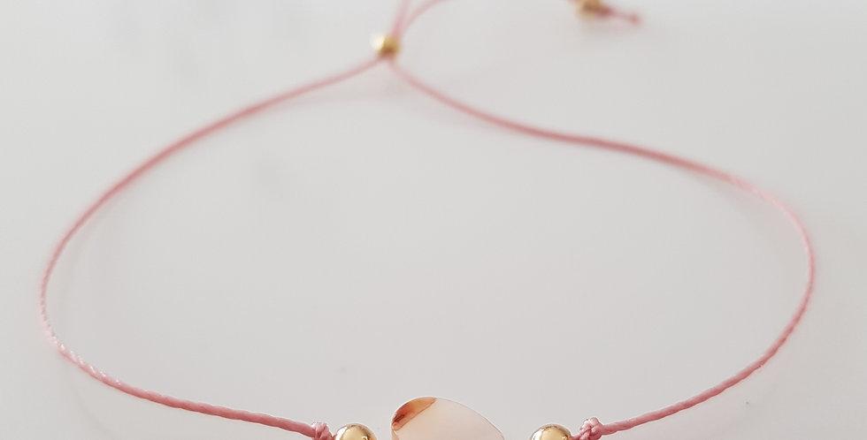Armband Perlmutt rosa