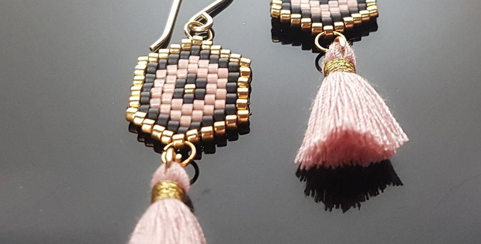 Quastagon rosa, gold