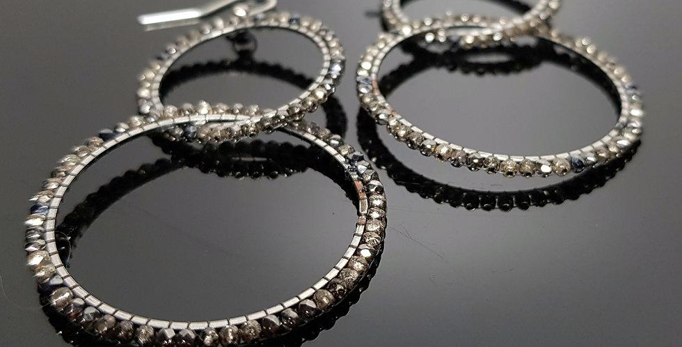 Ringe verschlungen Plus silber, chrome