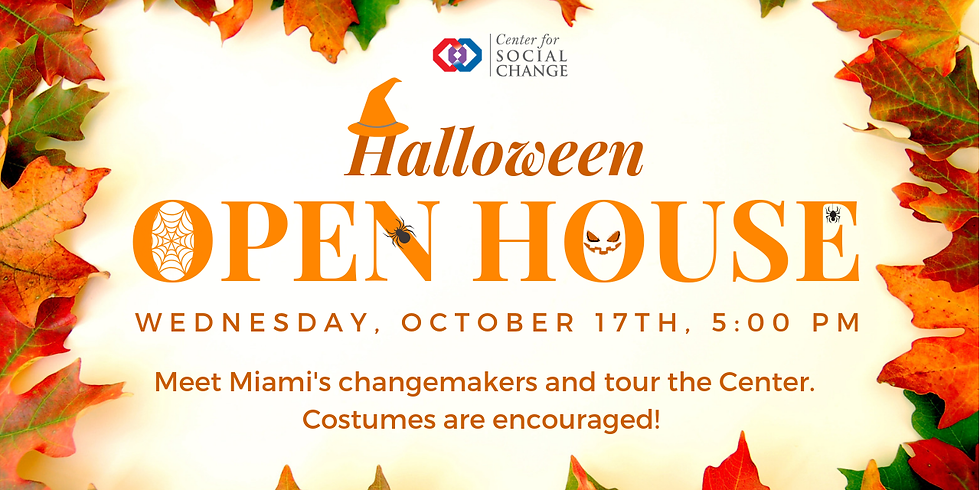 Halloween Open House at C4SC