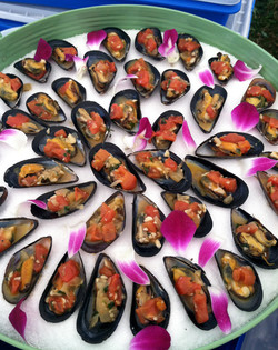 Mussels w/White Wine & Tomato