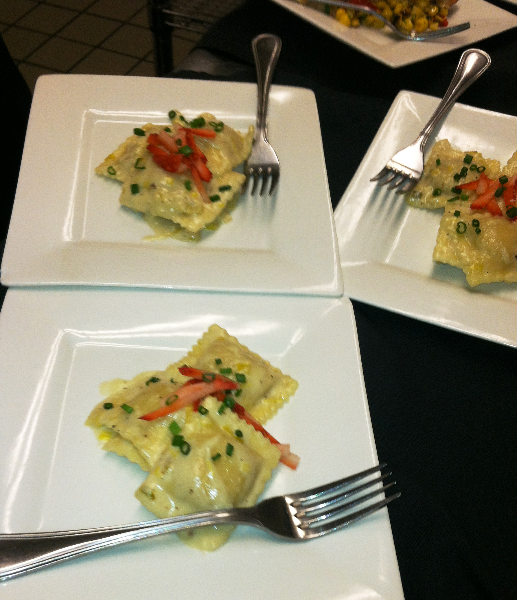 Blue Cheese Ravioli