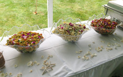 Colorful Buffet Display
