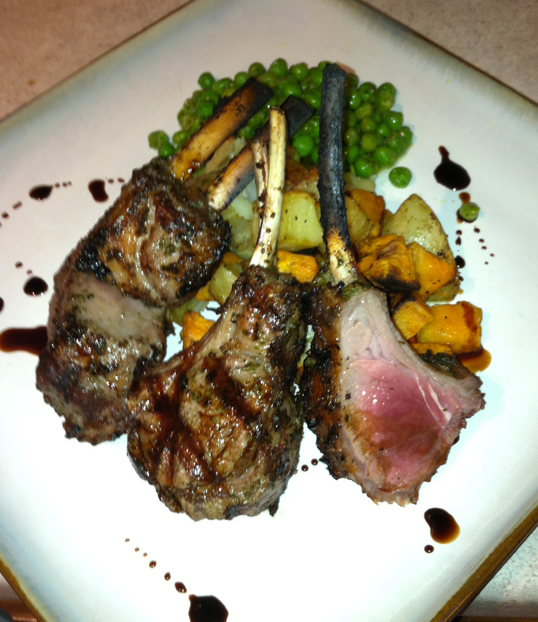 Rosemary Mint Pesto Rack of Lamb