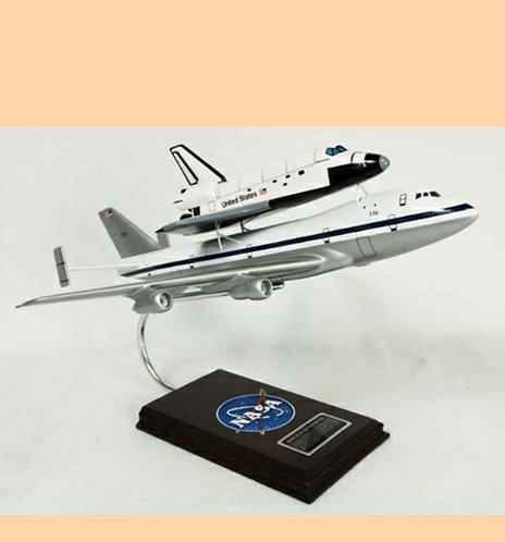 Boeing Shuttle Carrier Aircraft 1:200 Scale