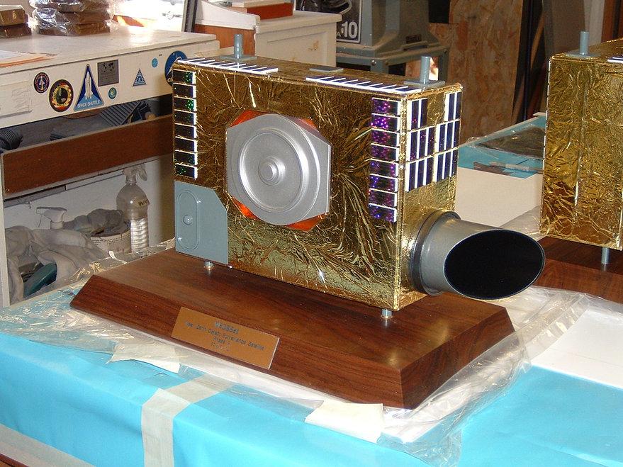Space model NEO satellite