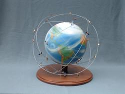 GPS Satellites globe model