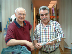 Nick Proach with Alan Bean
