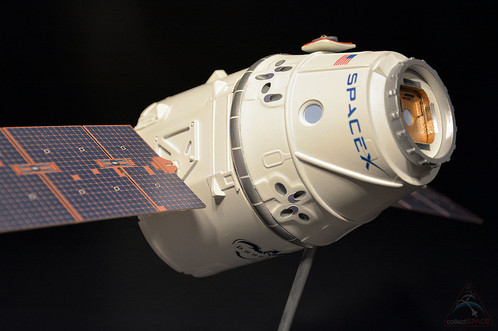 space exploration technologies spacex made history by launching its dragon spacecraft and successfully attaching it to the international space station on