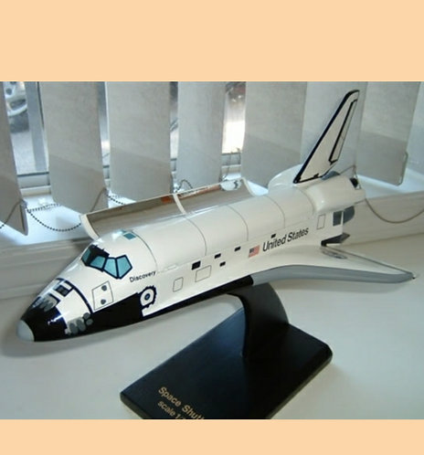 Space Shuttle Orbiter with Opening PLB Doors 1:100