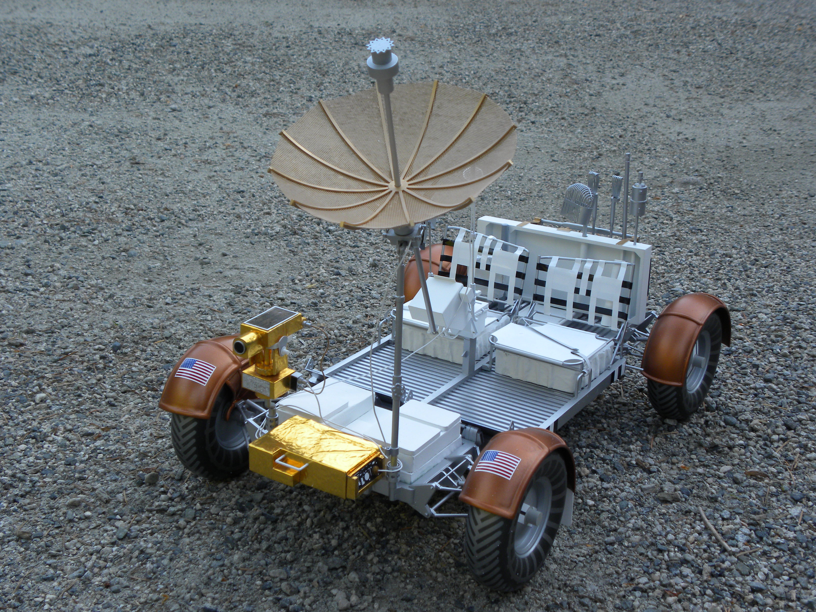 Lunar Rover Vehicle