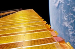 International Space Station Array Wing