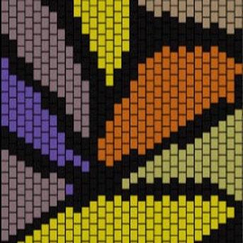"""PEYOTE BRACELET KIT 1.5"""" x 6.6"""" 7 colours"""