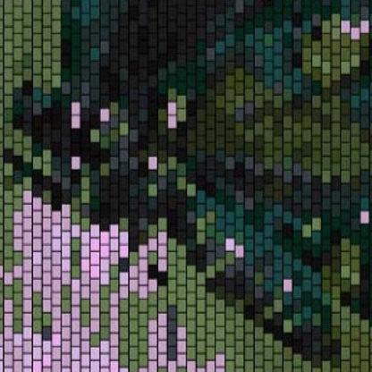 """PEYOTE BRACELET KIT 2.0"""" x 7.0"""" 40 columns x 225 rows 20 colours"""