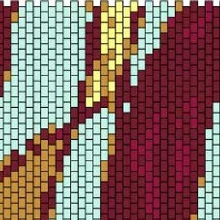 """PEYOTE BRACELET KIT 1.5"""" x 7.0"""" 5colours"""