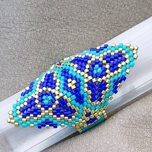 BEADED RING size 7.5