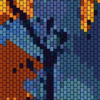 """PEYOTE BRACELET KIT 1.5"""" x 6.5"""" 30 columns x 210 rows 16colours"""