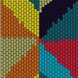 """PEYOTE BRACELET KIT 1.5"""" x 7.0""""  7colours"""