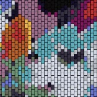 """PEYOTE BRACELET KIT 1.5"""" x 6.5"""" 16 colours"""