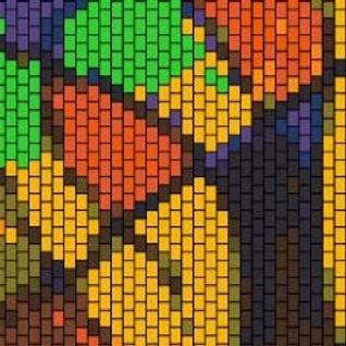 """PEYOTE BRACELET KIT 1.5"""" x 7.0"""" 16colours"""