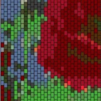 """PEYOTE BRACELET KIT 1.5"""" x 6.5"""" 20 colours"""