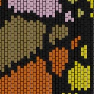 """PEYOTE BRACELET KIT 1.5"""" x 7.0"""" 7 colours"""