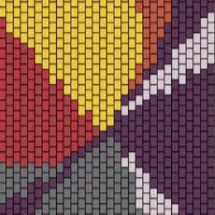 """PEYOTE BRACELET KIT 1.5"""" x 7.0"""" 8colours"""