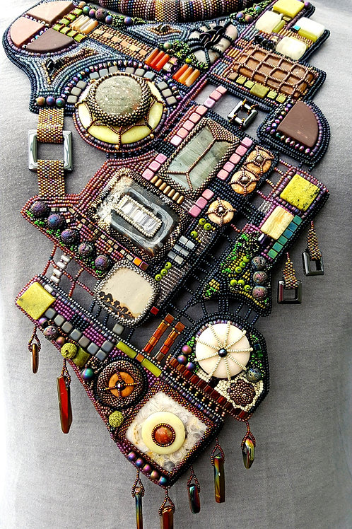 """STATEMENT NECKLACE - """"DOWNTOWN"""""""