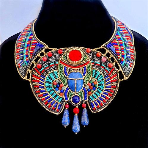 STATEMENT NECKLACE Egyptian Interpretation