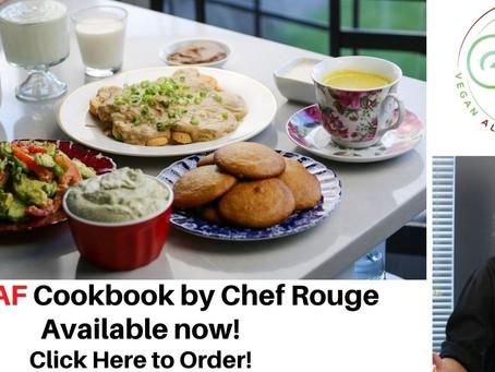 Vegan Allergen Friendly Cookbook Out Now!