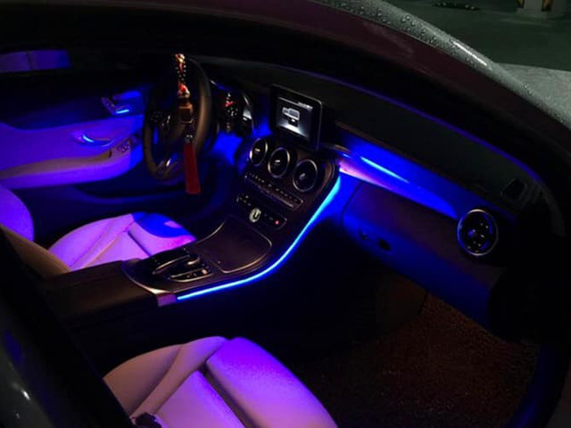 Ambiente dash light fitted to any car & any model  Upgrade your old dash with - DSC Garage.