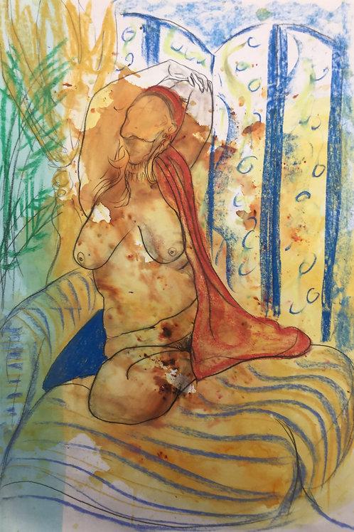 "Sketch  ""Matisse Joy"""