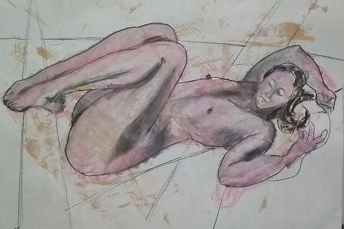 "Sketch ""Unwinding"""