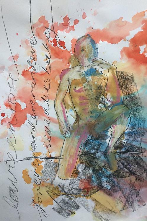"""Sketch  """"La Vie en Rose"""""""