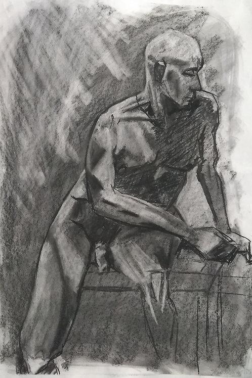 "Sketch  ""Seated Jon"""