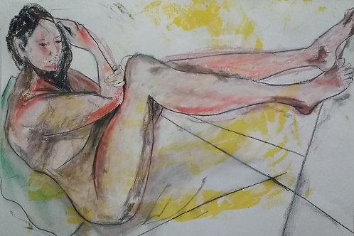 "Sketch ""Quiet Yearning"""