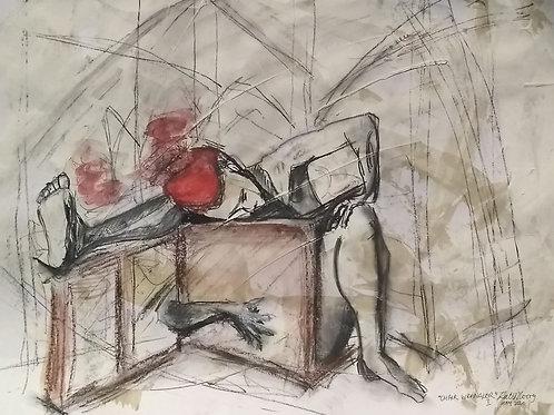 """Lockdown Sketch  """"Chair Wrangler I"""""""