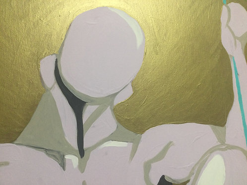 """Gold Tension"" - Original Painting"