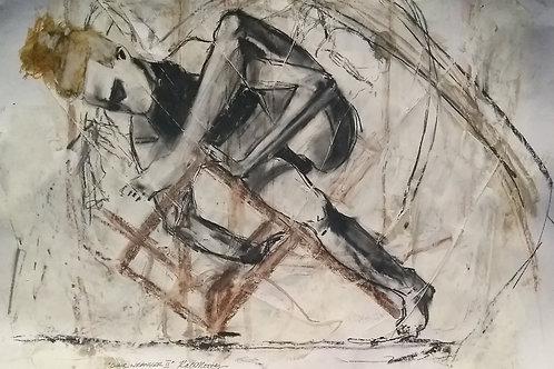 "Lockdown Sketch  ""Chair Wrangler II"""