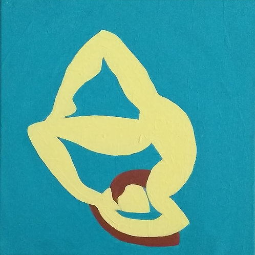 """Ecstasy - 4-square I"" - Original Changling Painting"