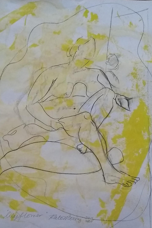 """Lockdown Sketch  """"Lily Flower"""""""